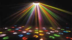disco lighting equipment to hire for parties and events