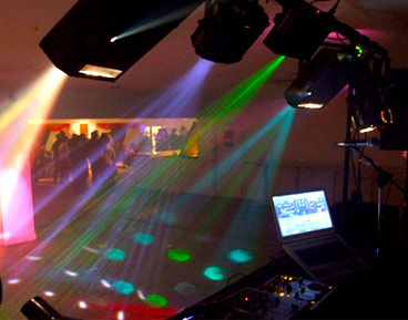 hire mobile disco services for a party in ipswich, suffolk