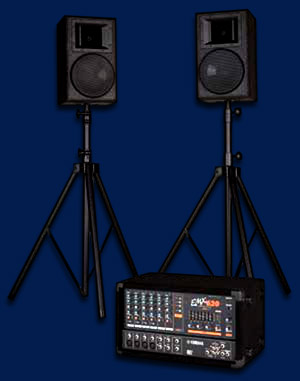 pa system hire in the ipswich area